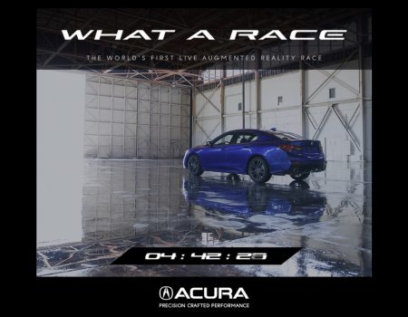 Acura- World's First Augmented Reality Race